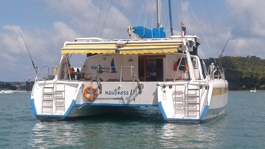 Catamaran NAUTINESS II - for sailing & cruising - extra wide 7.7 m