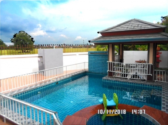 house Pattaya for sale, 4bed 3bath, fully furnishedwith private pool