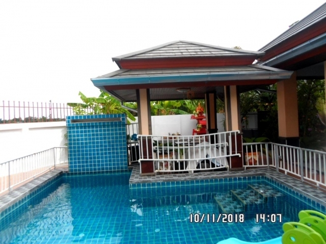 house Pattaya for sale, 3bed 3bath,   with private pool