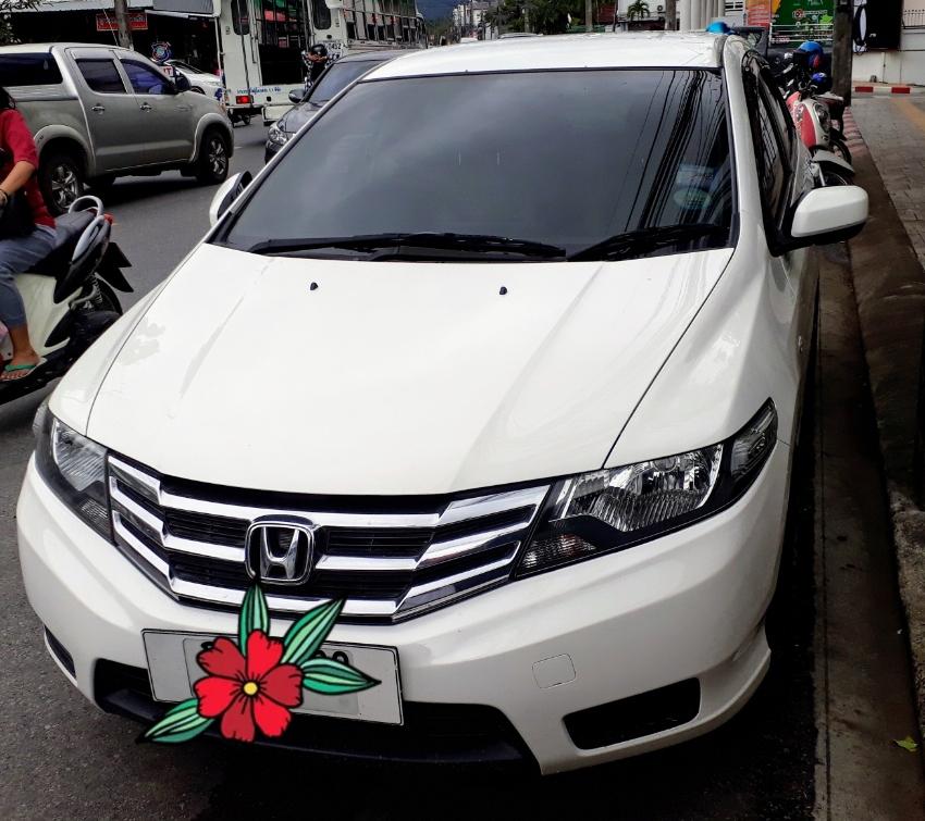 Honda City 2012 AT 1.5 V CNG