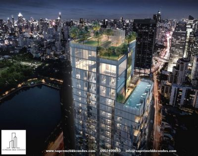 THE COLLECTION New luxury residence stunning views of Benjakiti park