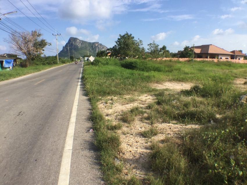 Land 4 rai 1 km from beach for sale in Prachuap