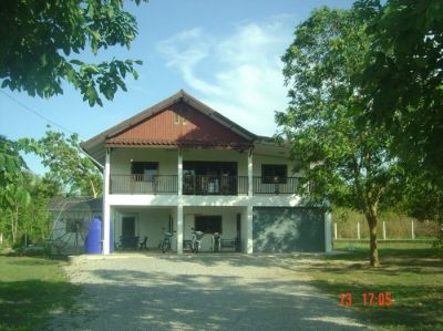 Large House On 1 Rai Kanchanaburi
