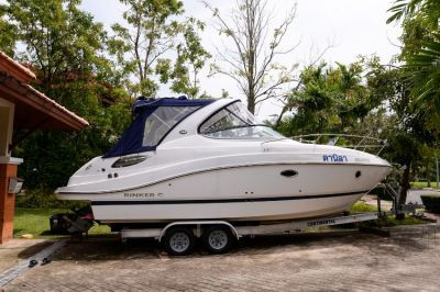 Boat Rinker 290 2015 year | Change for Real Estate