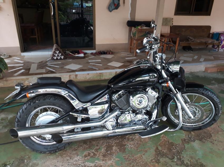 a beauty on 2 wheel dragstar 400cc