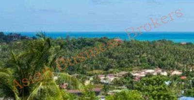 6704002 Hill Top Land Overlooking Wat Plai Laem Koh Samui
