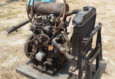 Yanmar 3 Cylinder PC-20 Mini Excavator Engine