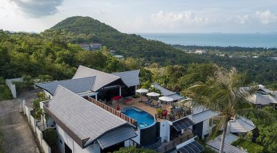 For sale villa + apartments Bophut Koh Samui 8 bedroom sea view pool