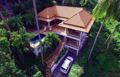 For sale villa 5 bedroom Koh Samui Chaweng pool sea view