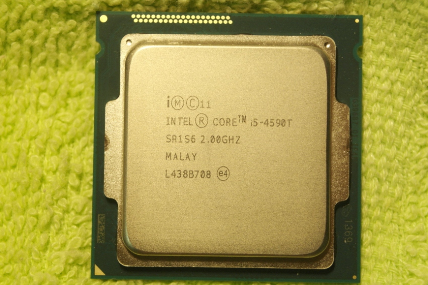 Intel Core i5-4590T, 35 Watt only