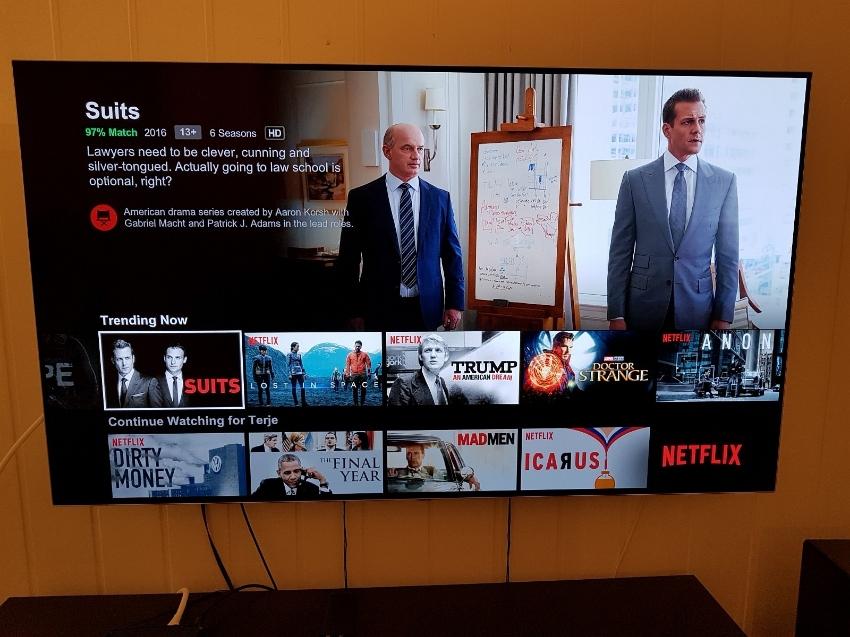 TV LG OLED B7 - 55
