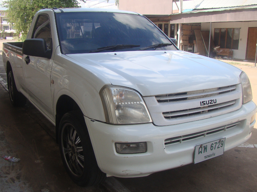 Isuzu Spark Ex Pickup, longbed, AT, LPG, well maintained