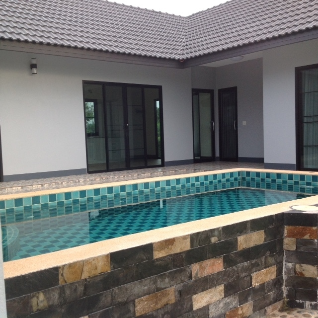 For sale modern style villa with pool.