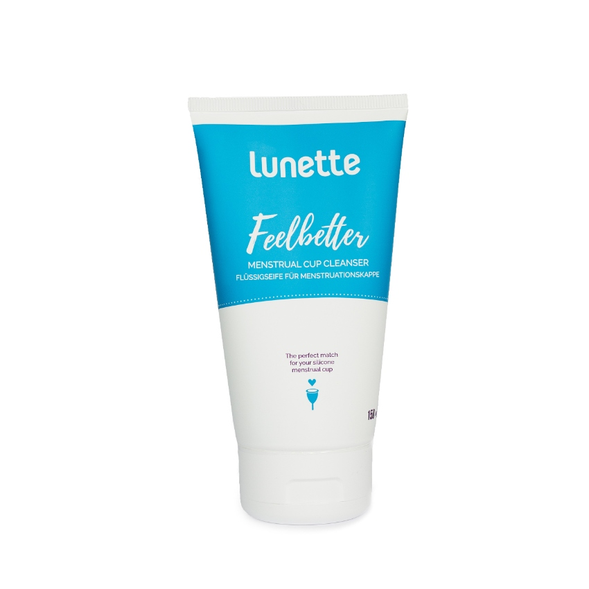 Lunette Feelbetter Cup Cleanser 150ml Made in FINLAND