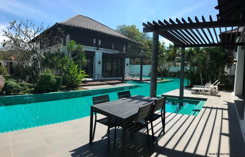 Attractive 3 bedroom pool villa in Oriental Beach Village