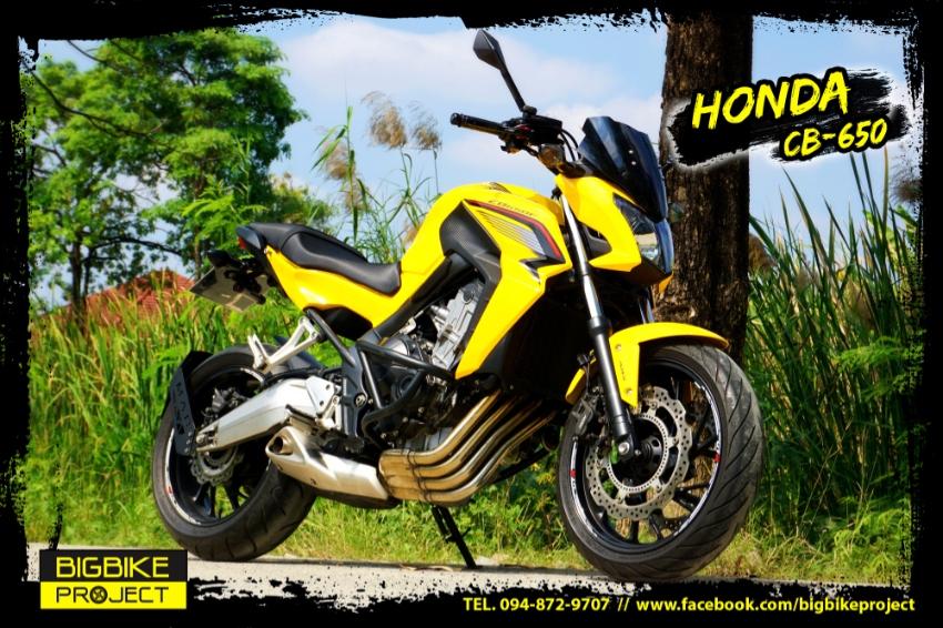 Sell Honda CB650Model15 with full warranty