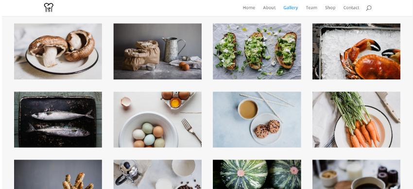 Restaurant Web Design 20,000THB