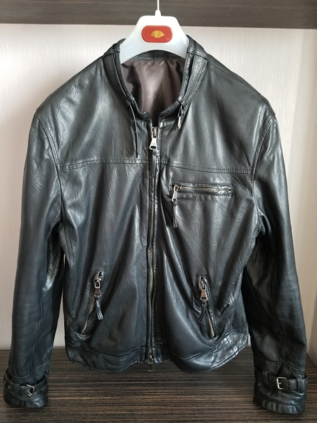 Leather Jacket Empresa made in Italy