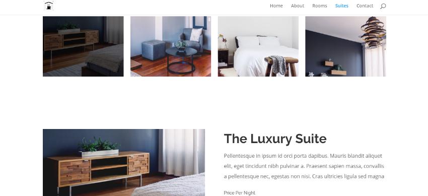 Hotel Web Design 20,000THB