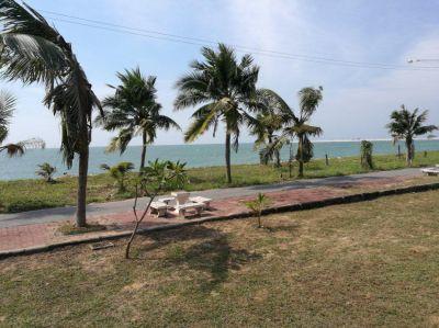 #3050  Ban Amphur Beach House - set in absolute beach front village