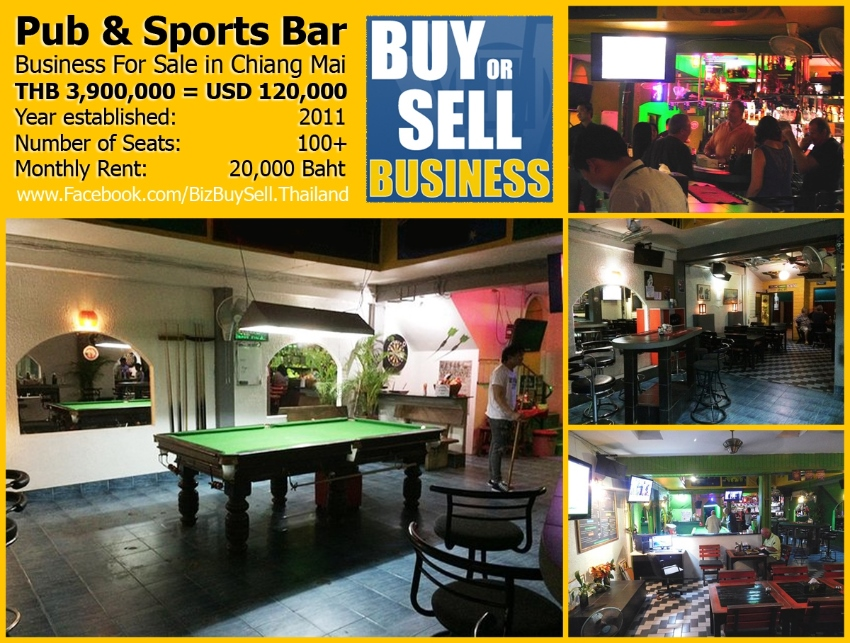 Pub and Sports Bar For Sale