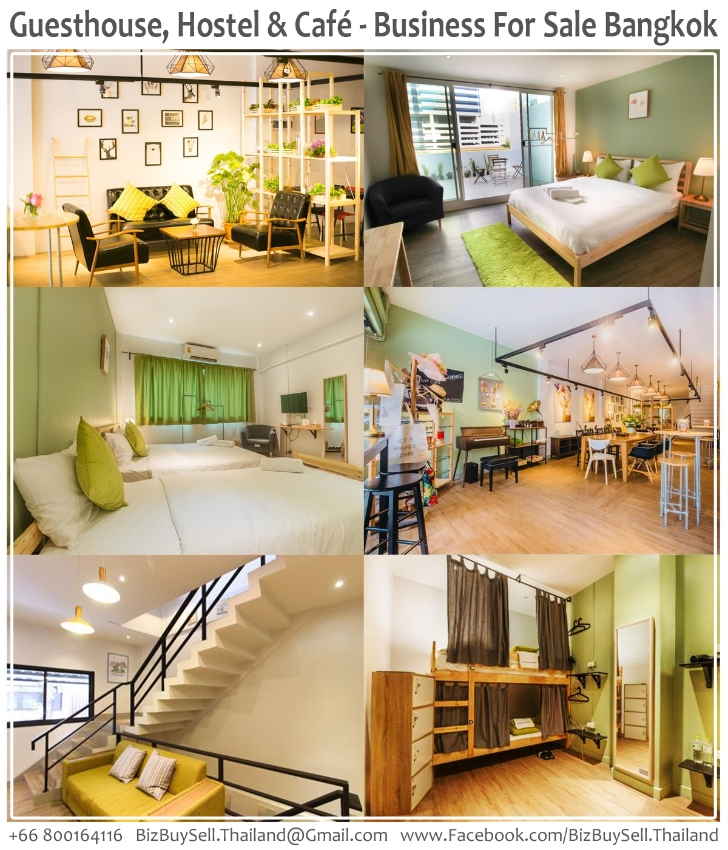 Guesthouse, Hostel & Cafe Business For Sale