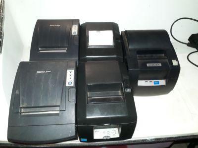 Used 5 x Theraml printers, 1 DOT Matrix