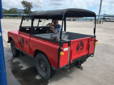Classic Land Rover Series iii.  4x4. Vintage Body with a Modern Engine