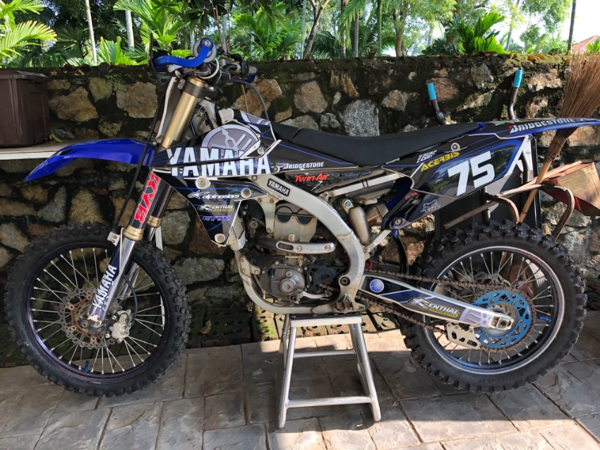 YZ 250 F Year 2016 for sale
