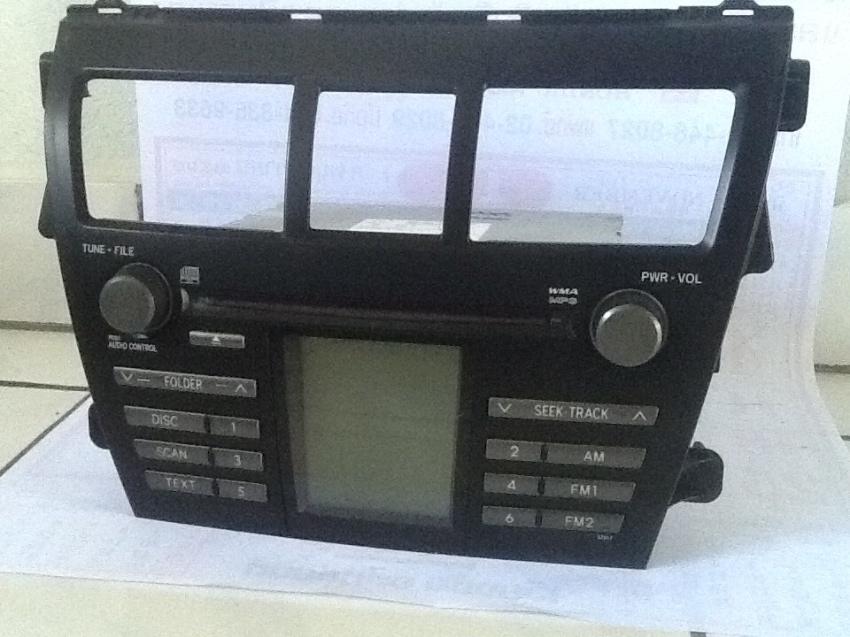 Cd player radio Original Toyota  Vios 2009