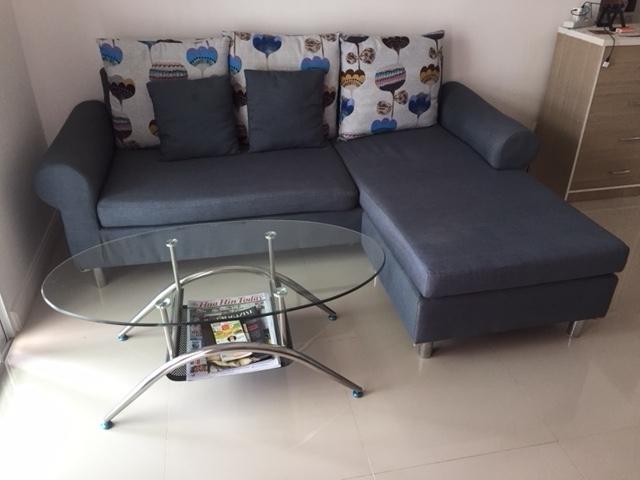 Settee Sofa Set & Coffee Table