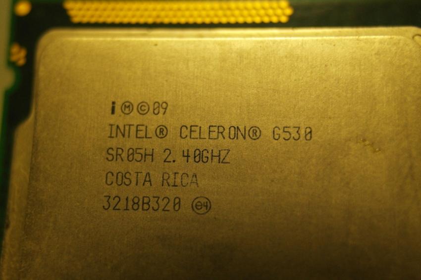 Intel CPU Celeron Dual Core G530 2.40 GHZ LGA 1155