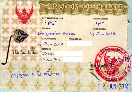 Family 30 years Thai Elite Visa for 2 persons.