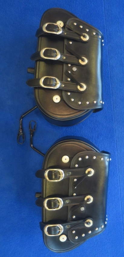 Harley Davidson Softail Deluxe Detachable Saddlebags for sale
