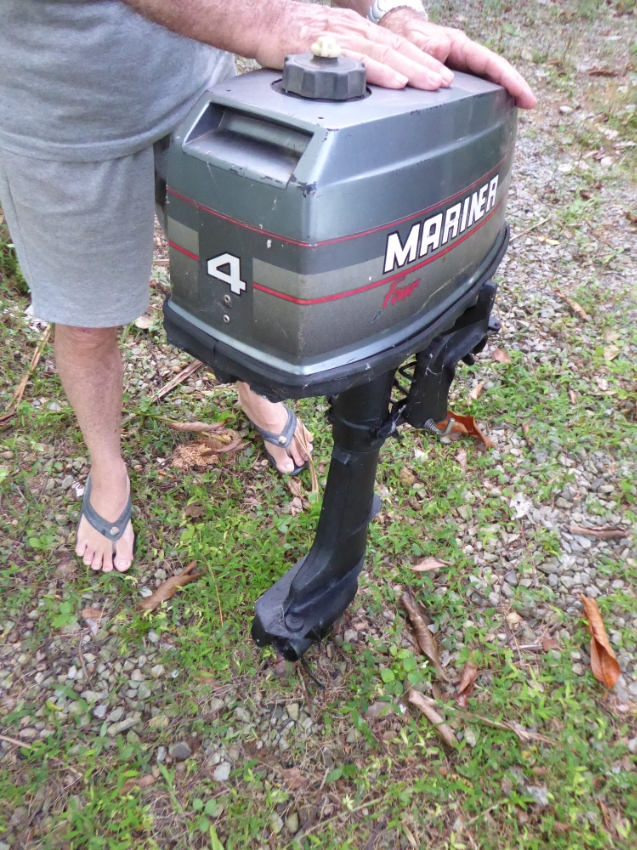 4HP Mariner 2 stroke outboard