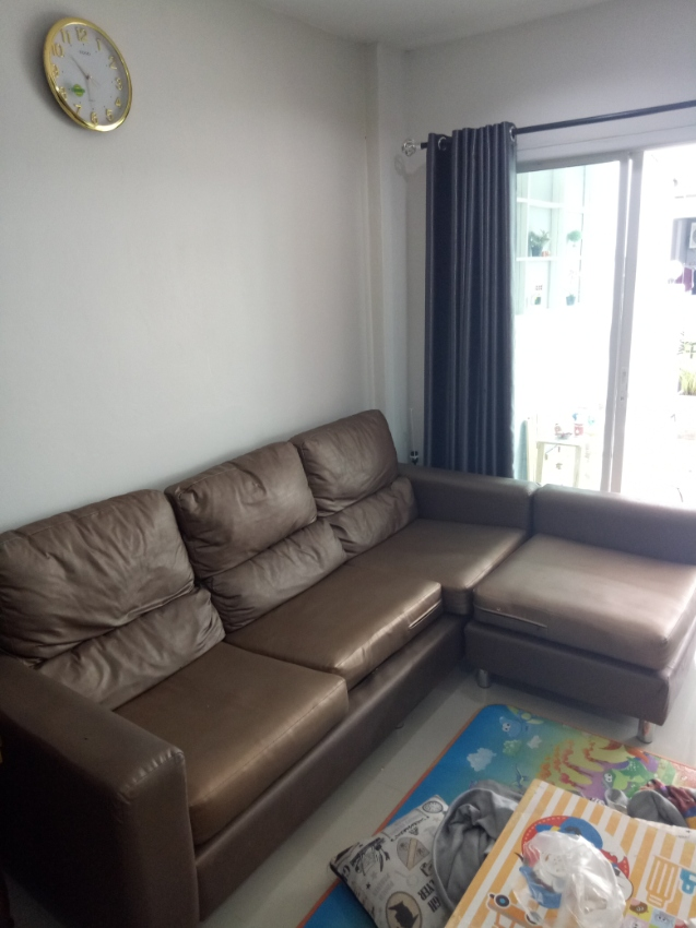 L-Shape Sofa for sale. Cheap and good condition in East Pattaya.