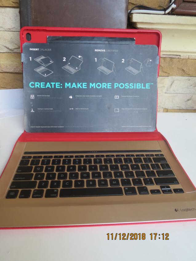 Logitech Create keyboard case for 1st generation iPad Pro 12.9