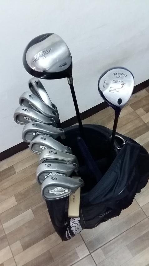 golf set with bag
