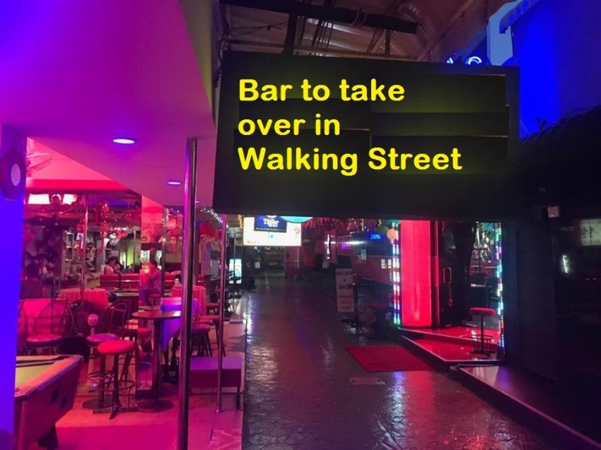 Pattaya Walking Street Bar Take Over