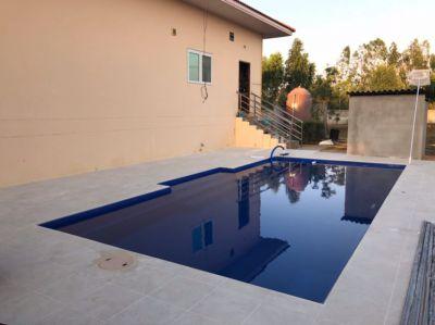 8m Centurion Fiberglass Pool