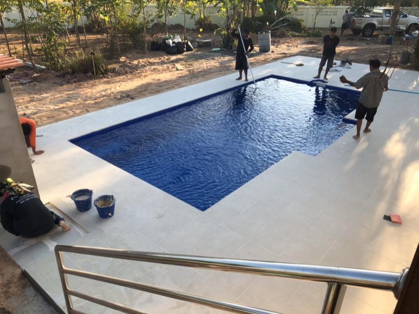 8m Centurion Fiberglass Pool Household Goods Appliances Watthana Baht Sold