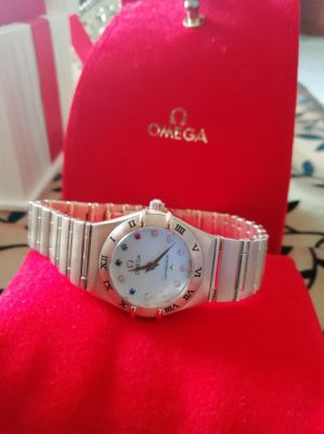 omega constelation lady limited edition bejing 2008, full gold