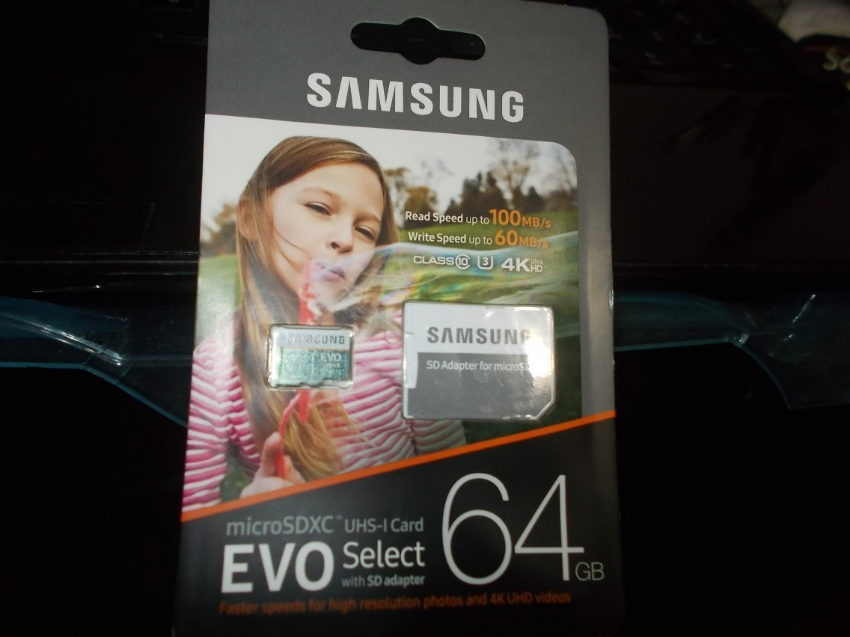 64 GB Memory card- Samsung brand-New, never opened package