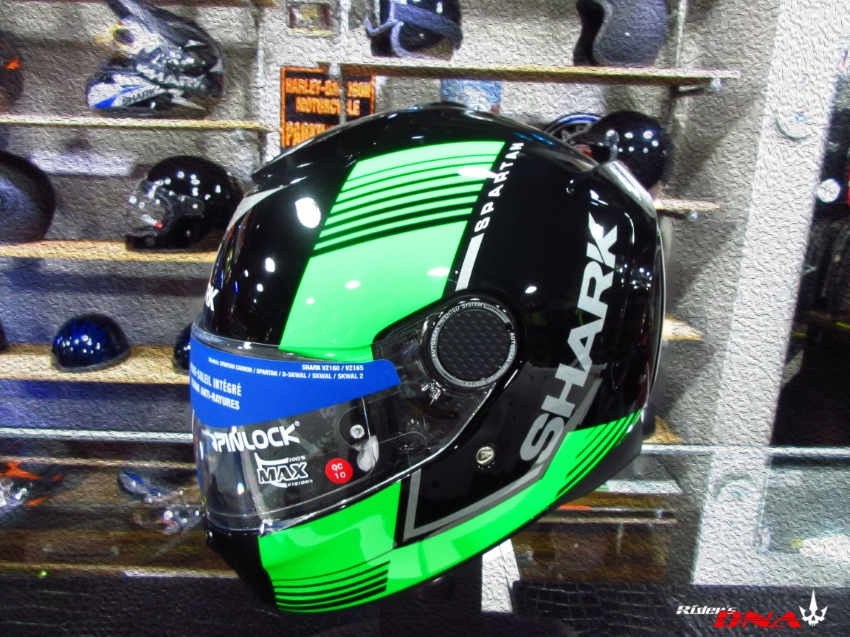 Shark Spartan Arguan full face helmet