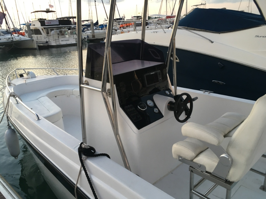 29 ft center console fishing boat
