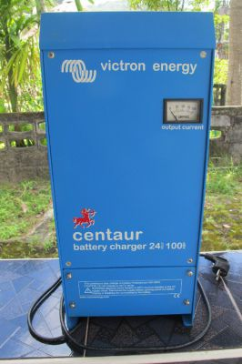 Victron Cenaur marine  24volt 100 amp 3 bank battery charger