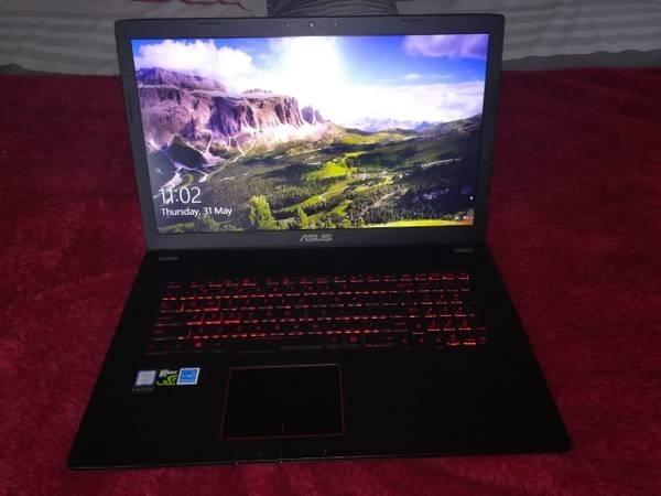 Asus 17.3 gaming laptop , warranty reciept