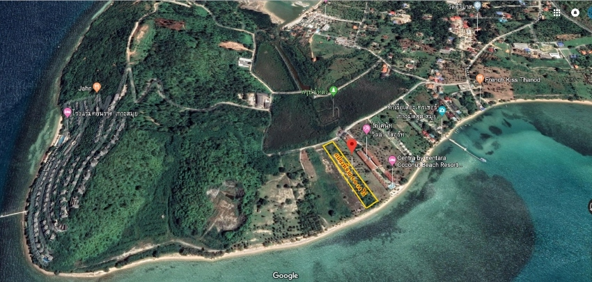 Land for sale on private sea Koh Samui, Surat Thani