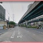 Land for sale 11 rai on Rama 3 River near the Chao Phraya River