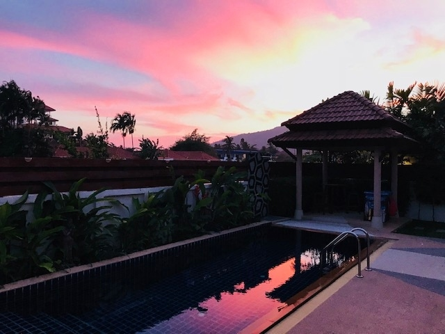 3 bedroom, 2 offices, maid quarter , all in one villa , Rawai, Phuket